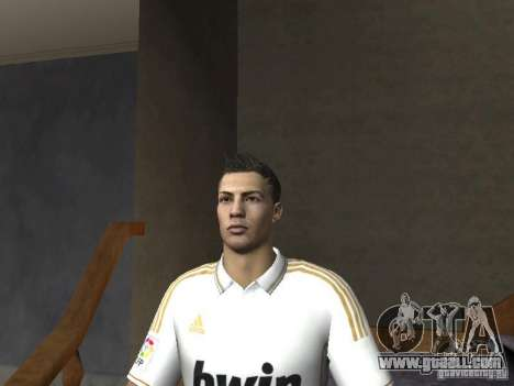 Cristiano Ronaldo for GTA San Andreas forth screenshot