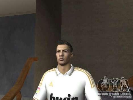 Cristiano Ronaldo for GTA San Andreas forth screenshot