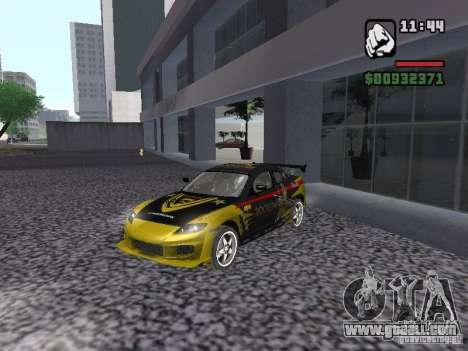 Mazda RX-8 Rockstar for GTA San Andreas