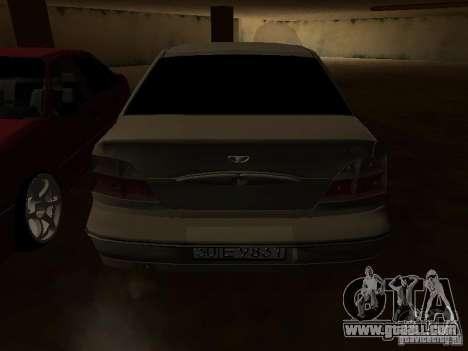 Daewoo Nexia for GTA San Andreas wheels
