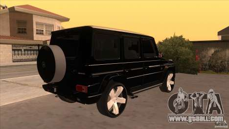 Mercedes-Benz G65 Asanti AF144 for GTA San Andreas right view