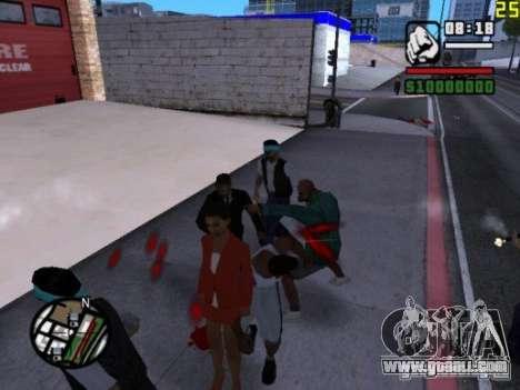 You cannot beat the women 2.0 for GTA San Andreas third screenshot