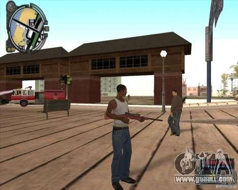 S.T.A.L.K.E.R. Call of Pripyat HUD for SA v1.0 for GTA San Andreas second screenshot
