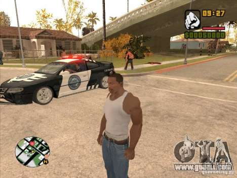 Call the Police for GTA San Andreas third screenshot