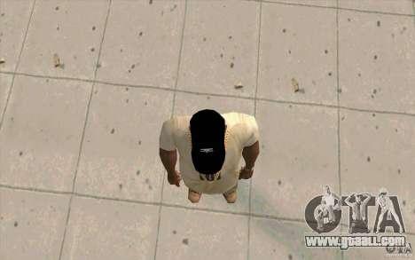 Umbro cap black for GTA San Andreas third screenshot