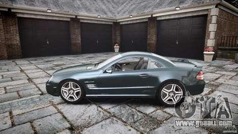 Mercedes Benz SL65 AMG V1.1 for GTA 4 left view
