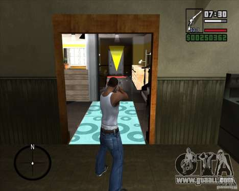 Revolver for GTA San Andreas second screenshot