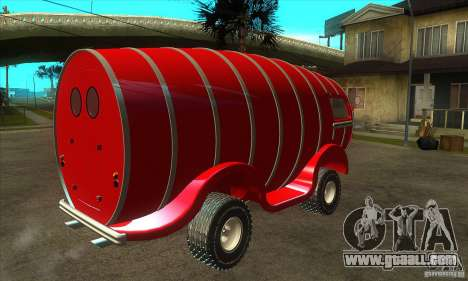 Beer Barrel Truck for GTA San Andreas right view