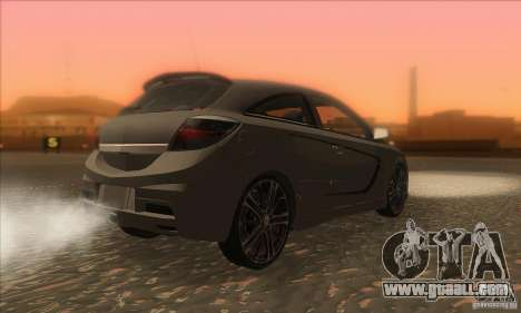 Opel Astra GTC DIM v1.0 for GTA San Andreas right view