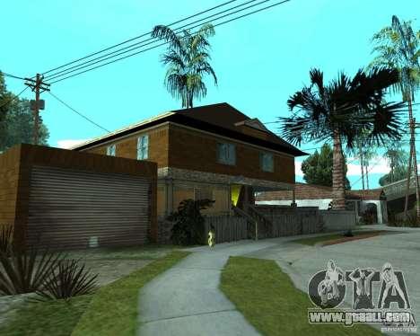 New home CJâ for GTA San Andreas second screenshot