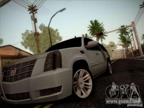Cadillac Escalade ESV Platinum for GTA San Andreas