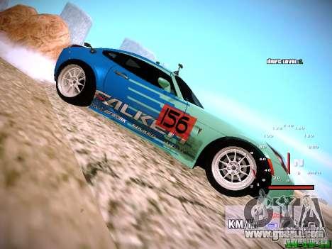 Pontiac Solstice Falken Tire for GTA San Andreas right view