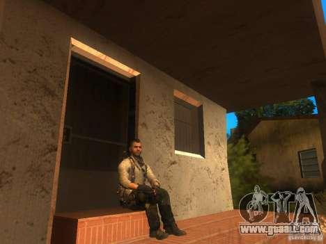 Animation Mod for GTA San Andreas second screenshot