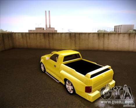 Dodge Dakota tuning for GTA San Andreas left view