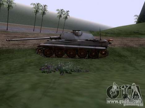 Pz VII Tiger II Royal Tiger VIB for GTA San Andreas left view