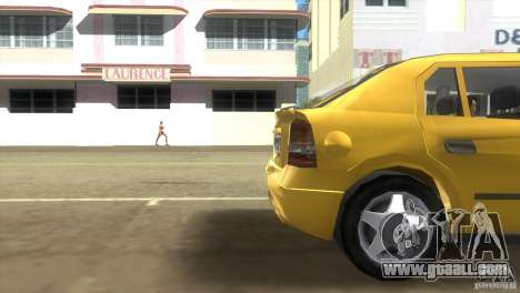 Opel Astra G for GTA Vice City back left view