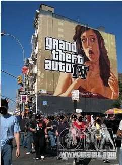 The real Poster Mod for GTA 4 fifth screenshot