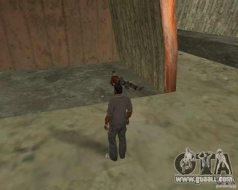 Barney homeless for GTA San Andreas seventh screenshot