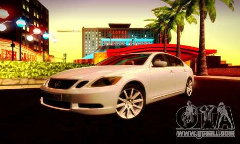 Lexus GS430 for GTA San Andreas right view