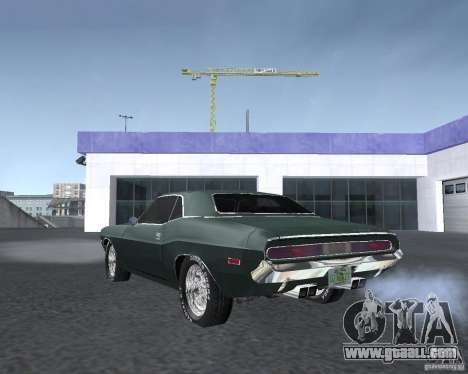 Dodge Challenger V1.0 for GTA San Andreas right view