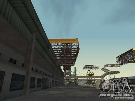 Huge MonsterTruck Track for GTA San Andreas fifth screenshot