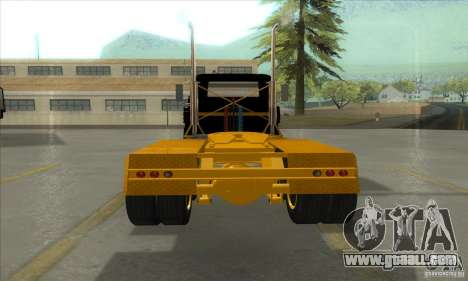 Mack R600 for GTA San Andreas back view
