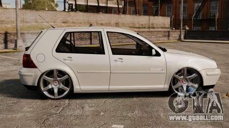 Volkswagen Golf Flash Edit for GTA 4 left view