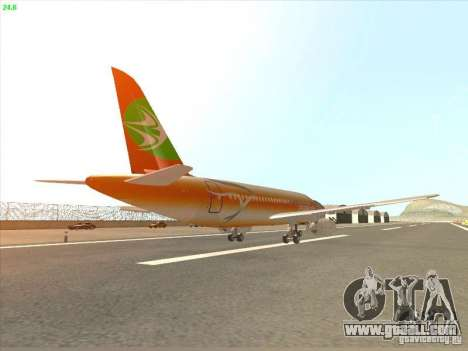 Sukhoi Superjet-100 for GTA San Andreas right view