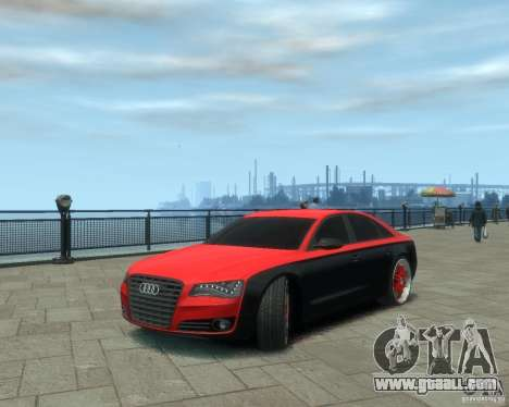 Audi A8 tuning for GTA 4