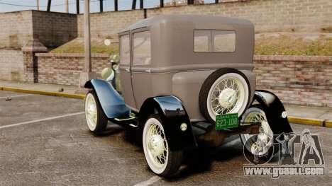 Ford Model T 1927 for GTA 4 back left view