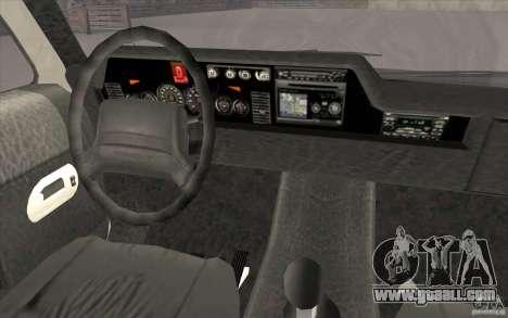GTA3 HD Vehicles Tri-Pack III v.1.1 for GTA San Andreas interior