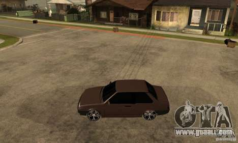Lada ВАЗ 21099 coupe for GTA San Andreas left view