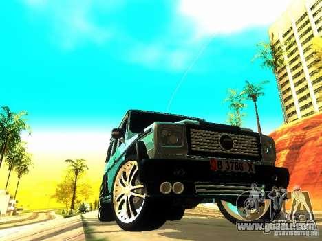 Mercedes-Benz G500 ART for GTA San Andreas