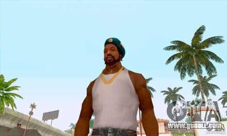 AIRBORNE beret for GTA San Andreas fifth screenshot