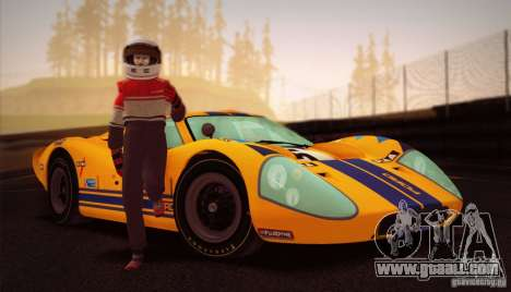 Ford GT40 MK IV 1967 for GTA San Andreas