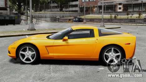 Chevrolet Corvette Z51 for GTA 4 left view