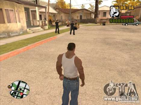 Call the Police for GTA San Andreas fifth screenshot
