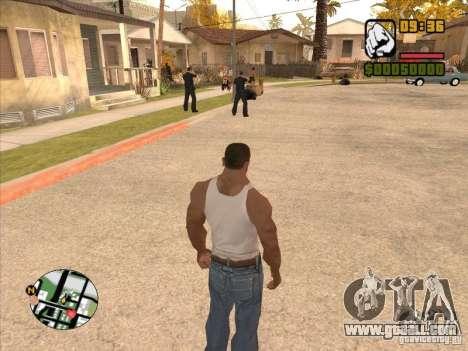Call the Police for GTA San Andreas fifth screenshot