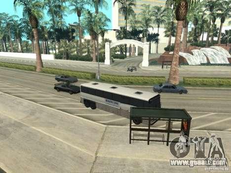 Bus line in Las Venturas for GTA San Andreas ninth screenshot