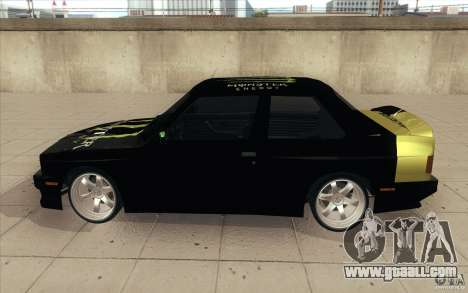 BMW E30 323i for GTA San Andreas inner view