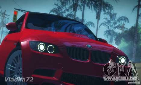 BMW E92 v2 Updated for GTA San Andreas