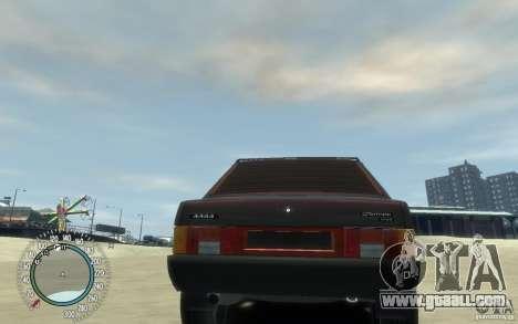 VAZ 21099 Duplet for GTA 4 back view