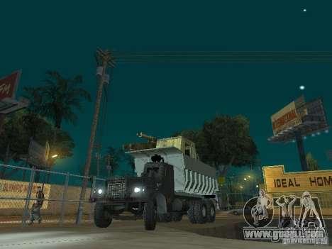 KrAZ-256b1-030 for GTA San Andreas