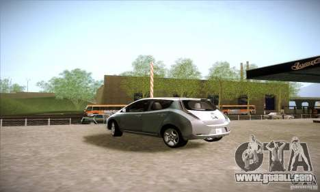 Nissan Leaf 2011 for GTA San Andreas left view