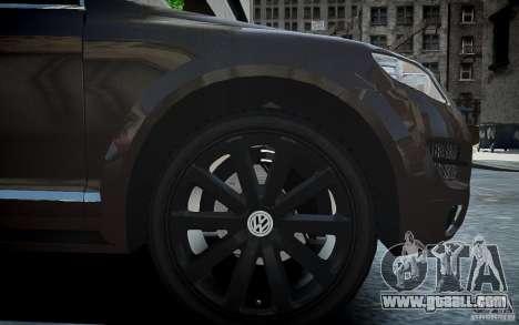 Volkswagen Touareg R50 for GTA 4 inner view