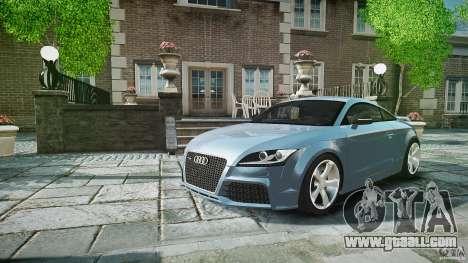 Audi TT RS 2010 for GTA 4 interior