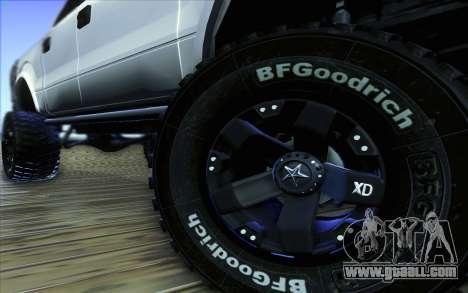 Ford F-150 Carryer Metal Mulisha for GTA San Andreas upper view