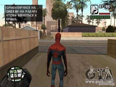 Spider-man 2099 for GTA San Andreas third screenshot