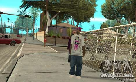 Replace all skins East Side Ballas for GTA San Andreas third screenshot