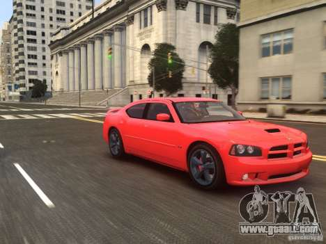 Dodge Charger SRT8 2006 for GTA 4 right view